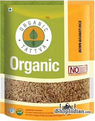 Organic Tattva Organic Brown Basmati Rice - 2 lbs