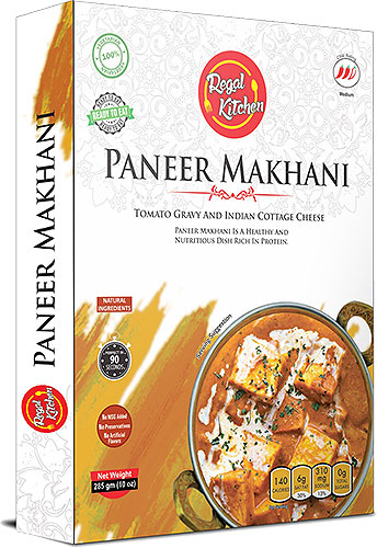 Regal Kitchen Paneer Makhani (Ready-to-Eat) - BUY 2 GET 1 FREE!