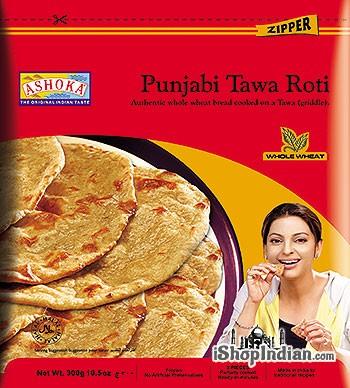 Ashoka Punjabi Tawa Roti - 5 pcs (FROZEN)