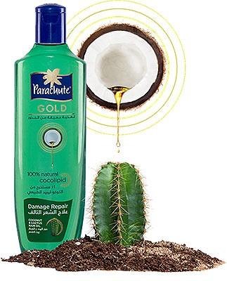 Parachute Gold Damage Repair Hair Oil