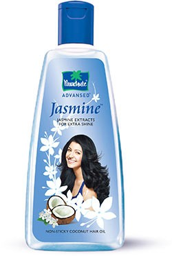 Parachute Advansed Jasmine Coconut Hair Oil (non-sticky coconut hair oil)