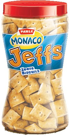 Parle Monaco Jeffs - Zeera (Mini Cumin Biscuits)