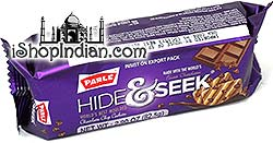 Parle Hide & Seek Chocolate Chip Cookies (Pack of 4)