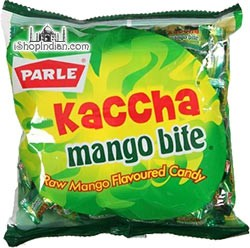 Parle Kaccha Mango Bite (Raw Mango Flavored Candy)