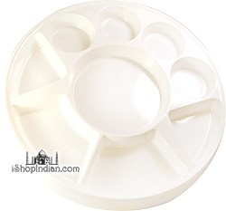 Party Plate (thali) - Round - 25 pack