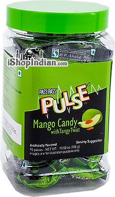 Pulse Mango Candy With Tangy Twist - 10.5 oz