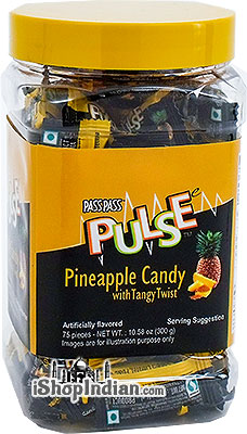 Pulse Pineapple Candy With Tangy Twist - 10.5 oz