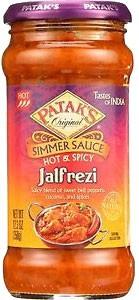 Patak's Jalfrezi Simmer Sauce - Hot & Spicy