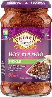 Patak's Mango Relish / Pickle - Hot