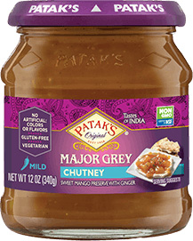 Patak's Major Grey Mango Chutney (Mild)