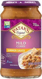 Patak's Mild Curry Simmer Sauce