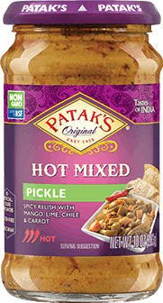 Patak's Mixed Relish / Pickle (Hot)