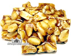 Peanut Chikki (Peanut Brittle)
