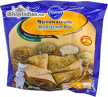 Sujata Microwaveable Multigrain Roti - 12 pcs (FROZEN)