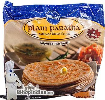 Sujata Plain Paratha - 12 pcs (FROZEN)