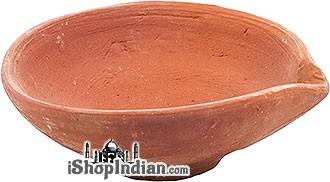 """Plain Clay Diyas (Large - 4"""") - 6 Pack"""