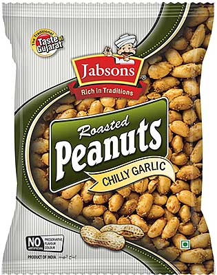 Jabsons Roasted Peanuts - Chilly Garlic