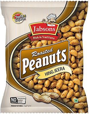 Jabsons Roasted Peanuts - Hing Jeera