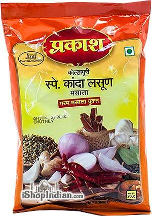 Prakash Onion Garlic Chutney (Kanda Lasoon Masala)