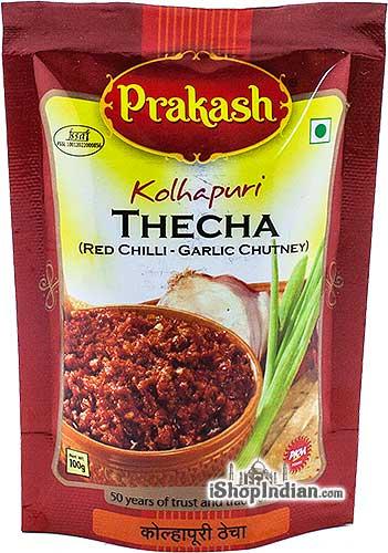 Prakash Kolhapuri Thecha Red Chilli - Garlic Chutney
