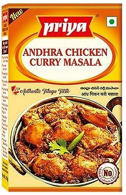 Priya Andhra Chicken Masala - BUY 2 GET 1 FREE!