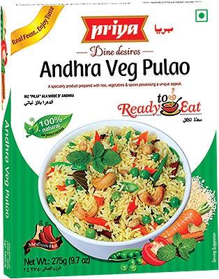 Priya Andhra Veg Pulao (Ready-to-Eat)