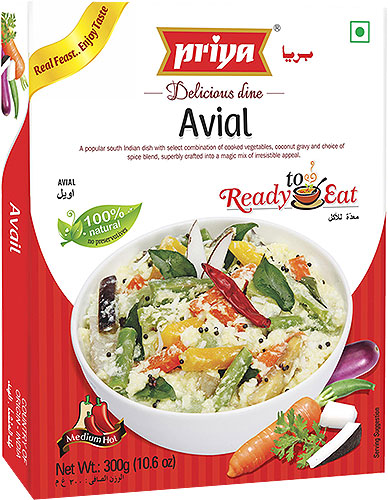 Priya Avial (Ready-to-Eat)