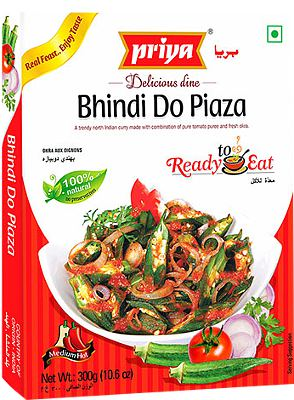 Priya Bhindi Do Piaza (Ready-to-Eat)