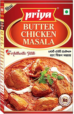 Priya Butter Chicken Masala - BUY 2 GET 1 FREE!