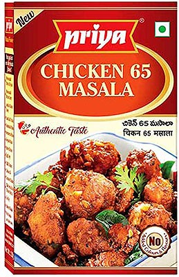 Priya Chicken 65 Masala - BUY 2 GET 1 FREE!