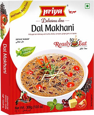 Priya Dal Makhani (Ready-to-Eat)