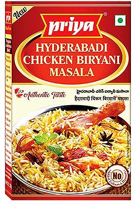 Priya Hyderabadi Chicken Biryani Masala - BUY 2 GET 1 FREE!