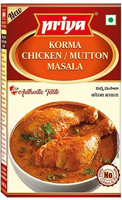 Priya Korma Chicken / Mutton Masala - BUY 2 GET 1 FREE!