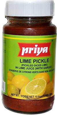 Priya Lime Pickle With Garlic