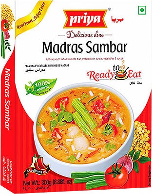 Priya Madras Sambar (Ready-to-Eat)