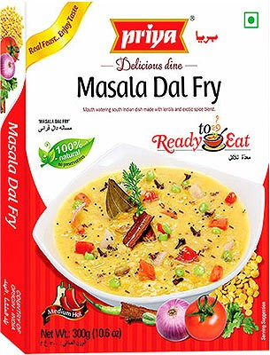 Priya Masala Dal Fry (Ready-to-Eat)