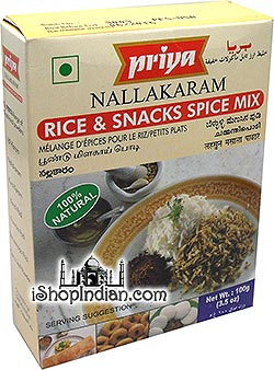 Priya Nallakaram - Rice & Snacks Spice Mix