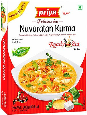 Priya Navaratan Kurma (Ready-to-Eat)