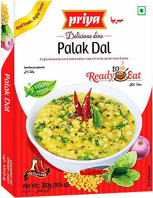 Priya Palak Dal (Ready-to-Eat)
