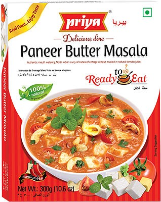 Priya Paneer Butter Masala (Ready-to-Eat)
