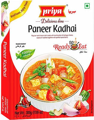 Priya Paneer Kadhai (Ready-to-Eat)