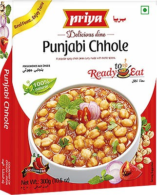 Priya Punjabi Chhole (Ready-to-Eat)