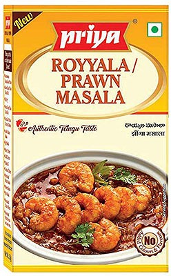 Priya Prawn/Shrimp Masala - BUY 2 GET 1 FREE!