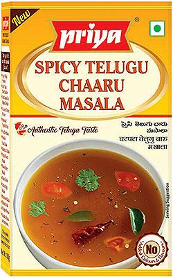 Priya Spicy Telugu Chaaru Masala - BUY 2 GET 1 FREE!
