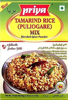 Priya Tamarind Rice (Puliogare Mix) - BUY 2 GET 1 FREE!