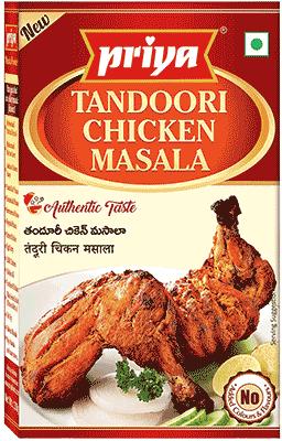 Priya Tandoori Chicken Masala - BUY 2 GET 1 FREE!