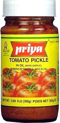 Priya Tomato Pickle with Garlic