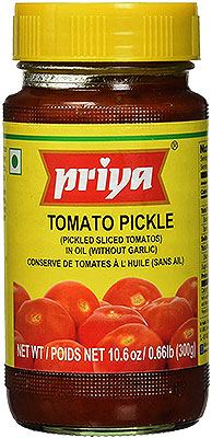 Priya Tomato Pickle without Garlic