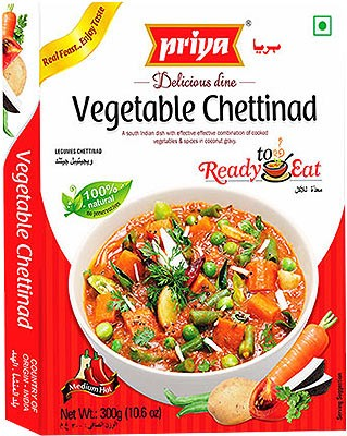 Priya Vegetable Chettinad (Ready-to-Eat)