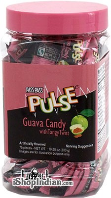 Pulse Guava Candy With Tangy Twist - 10.5 oz